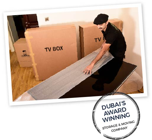 Dubai's award winning storage and moving company