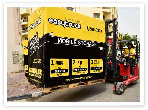 Easy Truck mobile storage